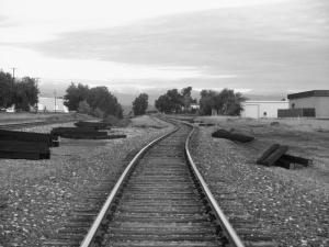 art show 1 sedona valdez  railroad tracksw
