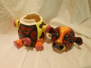 art show 4 stephen vukovits cow canopic jar